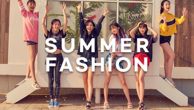 여름을 맞이하는 <br> 패션의 모든 것